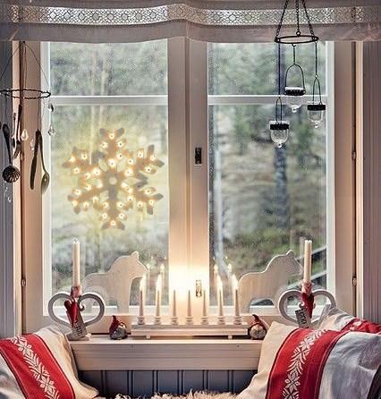 Karácsonyi LED fényfüzér a szobába Leden Világításod