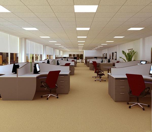 Süllyesztett LED panel világítás négyzet alakú 17 x 17 x 1 cm 12W meleg fehér