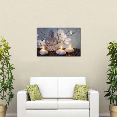 elemes-led-vaszonkep-vilagitas-buddha-30x40-cm
